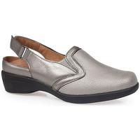 Zapatos Mujer Zuecos (Clogs) Calzamedi S  ELASTICA 0704 PLATA