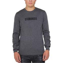 textil Hombre Jerséis Dsquared Jersey & Cardigans S71HA0916 - Hombres gris