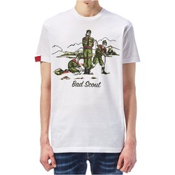 textil Hombre Camisetas manga corta Dsquared T-Shirts S74GD0361 - Hombres blanco