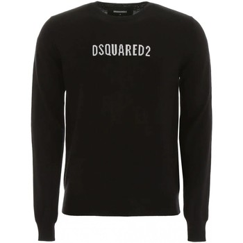 textil Hombre Jerséis Dsquared Jersey & Cardigans S71HA0916 - Hombres negro