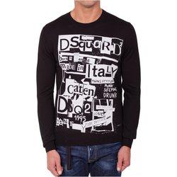 textil Hombre Jerséis Dsquared Jersey & Cardigans S74HA0955 - Hombres negro