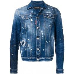 textil Hombre Chaquetas denim Dsquared Chaquetas & Abrigos S71AN0052 - Hombres azul