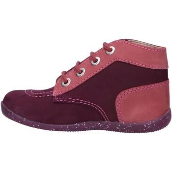 Zapatos Niña Botines Kickers 830272 BONBON-2 Morado