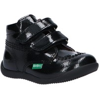 Zapatos Niña Botines Kickers 744570 BILLY VELK-2 Negro