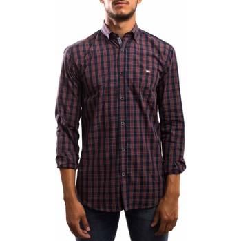 textil Hombre Camisas manga larga Klout CAMISA REGULAR CUADRO Rojo