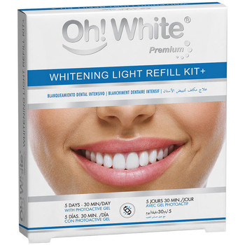 Belleza Tratamiento facial Oh! White Whitening Light Refill Kit+ Lote 6 Pz 6 u