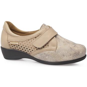 Zapatos Mujer Derbie & Richelieu Calzamedi S  ELASTICO 0685 BEIGE