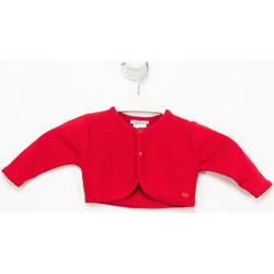 textil Niña Chaquetas de punto Tutto Piccolo Chaqueta m/larga Rojo