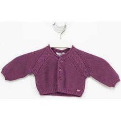 textil Niña Chaquetas de punto Tutto Piccolo Chaqueta m/larga Violeta