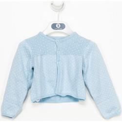 textil Niña Chaquetas de punto Tutto Piccolo Chaqueta m/larga Azul