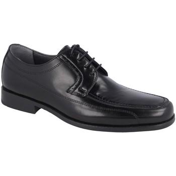 Zapatos Hombre Derbie Luisetti 19301GOMA NEGRO