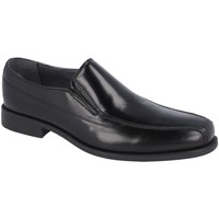 Zapatos Hombre Mocasín Luisetti 19302GOMA NEGRO