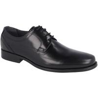 Zapatos Hombre Derbie Luisetti 19304GOMA NEGRO