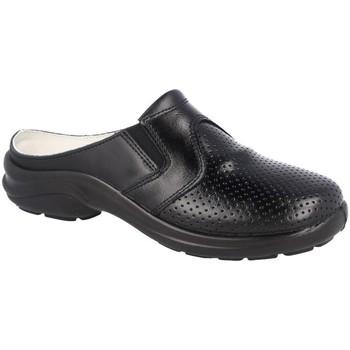 Zapatos Pantuflas Luisetti 0035.2MENORCA NEGRO