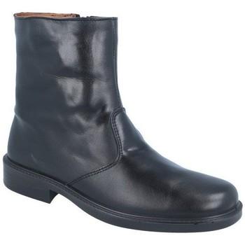 Zapatos Hombre Botas de caña baja Luisetti 0152 MERINILLO NEGRO