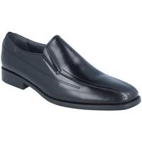Zapatos Hombre Mocasín Luisetti 14702GOMA NEGRO
