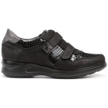 Zapatos Mujer Zapatillas bajas Dorking Cloe F0953 Negro Grafito Noir