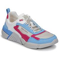Zapatos Mujer Zapatillas bajas Skechers BLOCK/WEST Blanco / Azul / Rosa