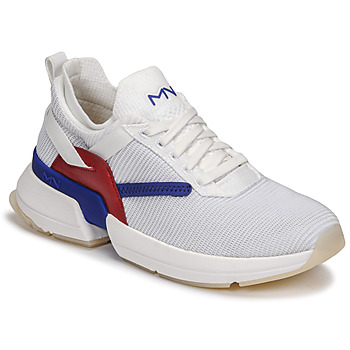 Zapatos Mujer Zapatillas bajas Skechers SPLIT/OVERPASS Blanco / Azul / Rojo