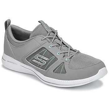 Zapatos Mujer Fitness / Training Skechers CITY PRO - WITHOUT A CARE Gris