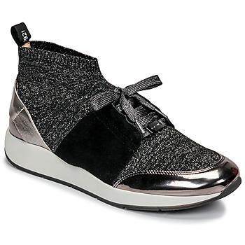 Zapatos Mujer Zapatillas bajas JB Martin KASSIE SOCKS Negro