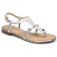 Zapatos Mujer Sandalias JB Martin GAELIA Blanco / Plateado