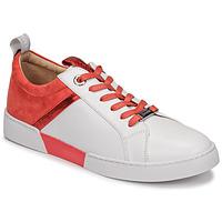 Zapatos Mujer Zapatillas bajas JB Martin GELATO Blanco / Coral