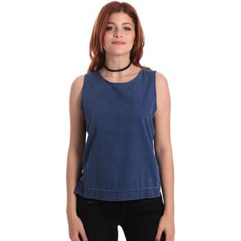 textil Mujer Tops / Blusas Fornarina SE175J70D883SK Azul