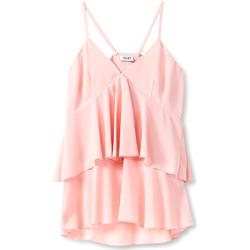 textil Mujer Tops / Blusas Liu Jo F19006T5540 Rosado