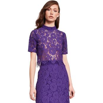 textil Mujer Tops / Blusas Gaudi 921FD45001 Violeta