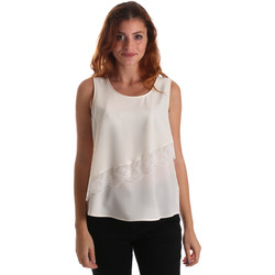 textil Mujer Tops / Blusas Liu Jo W69236 T8552 Blanco