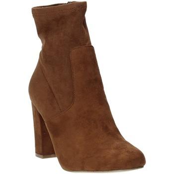 Zapatos Mujer Botines Steve Madden SMSPATTIE-SBRWN Marrón