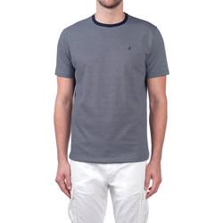 textil Hombre Camisetas manga corta Navigare NV70031 Azul
