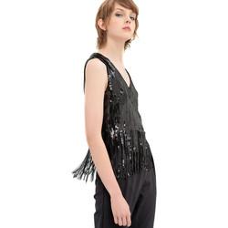 textil Mujer Tops / Blusas Fracomina FR20SP503 Negro