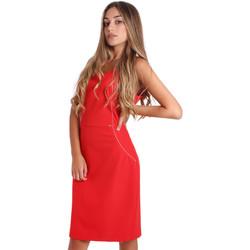textil Mujer Vestidos cortos Fracomina FR20SP645 Rojo