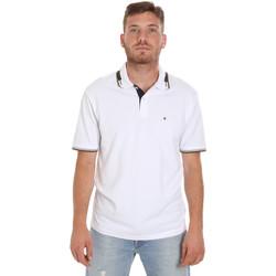 textil Hombre Polos manga corta Les Copains 9U9021 Blanco