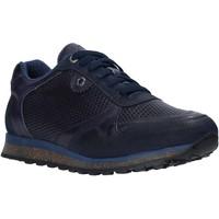 Zapatos Hombre Zapatillas bajas Exton 340 Azul