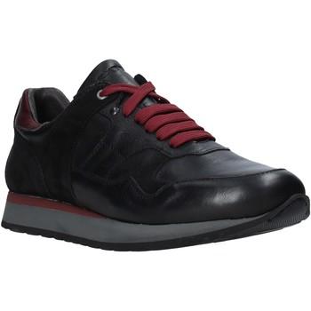 Zapatos Hombre Zapatillas bajas Exton 591 Negro