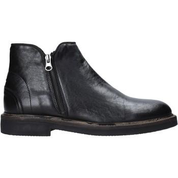 Zapatos Hombre Botas de caña baja Exton 851 Negro