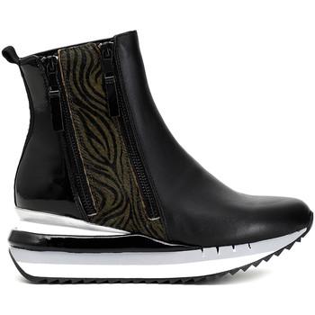 Zapatos Mujer Botas de caña baja Café Noir DN124 Negro