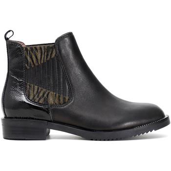 Zapatos Mujer Botas de caña baja Café Noir EB462 Negro