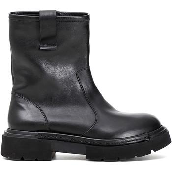 Zapatos Mujer Botas de caña baja Café Noir FB122 Negro