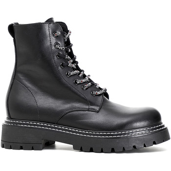 Zapatos Mujer Botas de caña baja Café Noir FM101 Negro