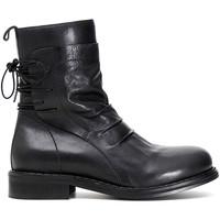 Zapatos Mujer Botas de caña baja Café Noir GA154 Negro