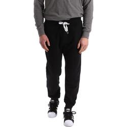 textil Hombre Pantalones de chándal Key Up 2F37I 0001 Negro