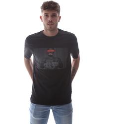 textil Hombre Camisetas manga corta Sprayground 21SFW004 Negro