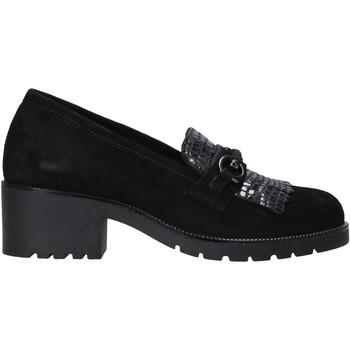 Zapatos Mujer Mocasín Grunland SC2967 Negro