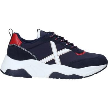 Zapatos Hombre Zapatillas bajas Munich 8770033 Azul