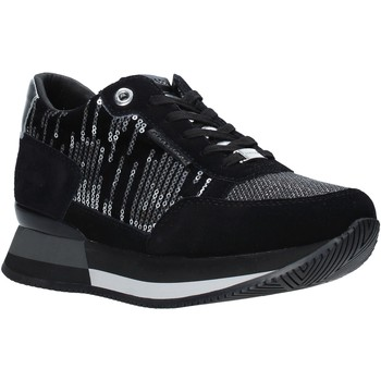 Zapatos Mujer Deportivas Moda Apepazza F0RSD01/VEL Negro