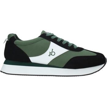 Zapatos Hombre Zapatillas bajas Rocco Barocco RB-AS2006 Verde